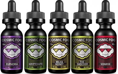 Prémiové e-liquidy Cosmic Fog