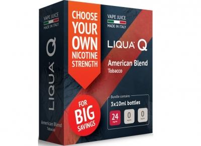 Nová řada náplní E-liquid Liqua Q, které si můžete namíchat podle sebe!